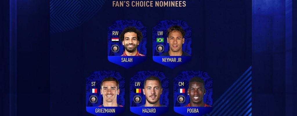 FIFA 19: Welcher 12. Spieler kommt ins TOTY? Ihr könnt wählen