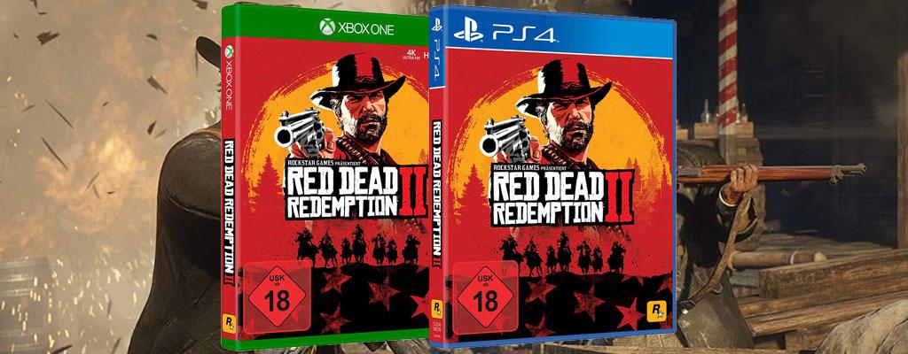 Amazon Angebot: Red Ded Redemption 2 zum aktuellen Bestpreis