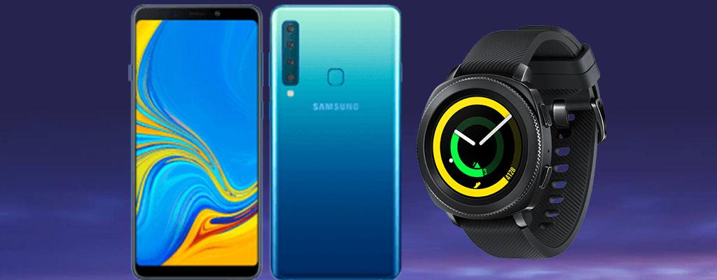 Tarifangebot 40 Jahre MediaMarkt: Samsung Galaxy A9 mit Gear Sport