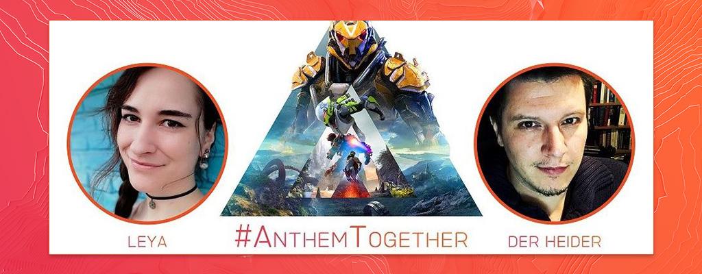 Seid dabei, wenn Leya und der Heider live »Anthem Together« spielen