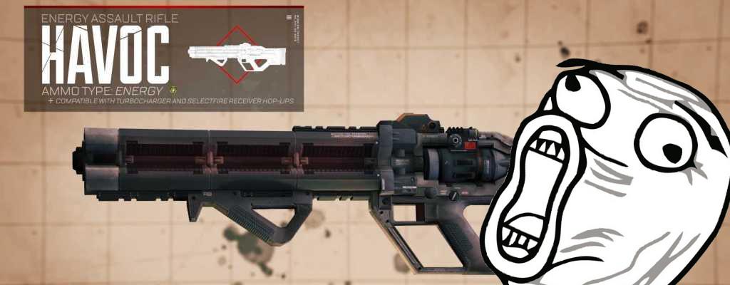 Apex Legends hat mit der Havoc die 1. neue Waffe – Community flippt aus