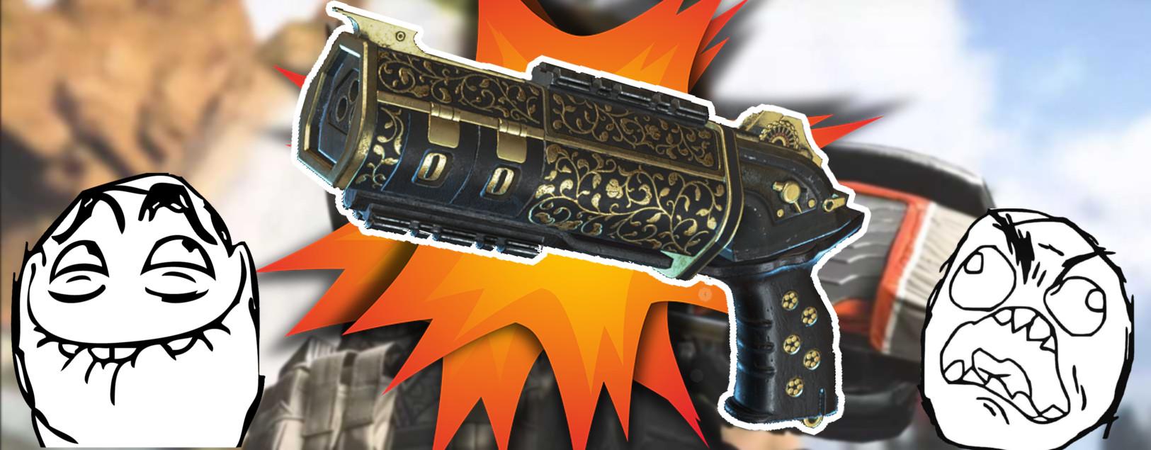 Die schlechteste Waffe in Apex Legends wird am lautesten gefeiert