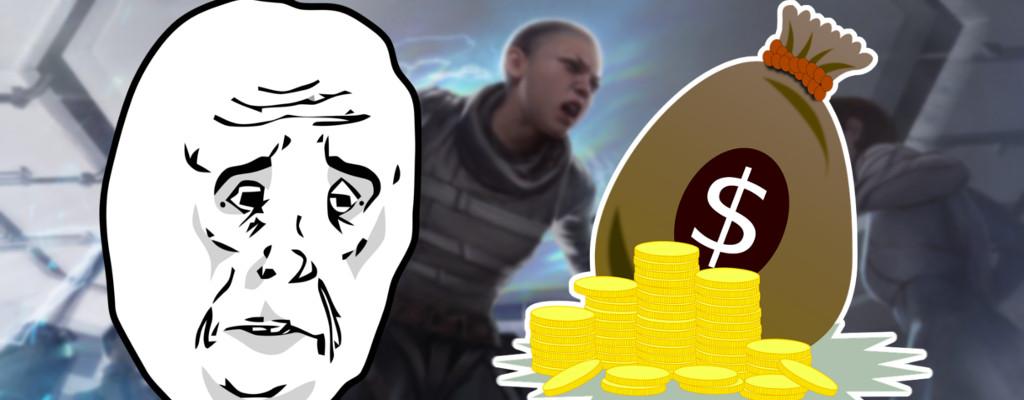 Spieler gibt 500$ für Apex Legends aus, hat dabei extremes Pech
