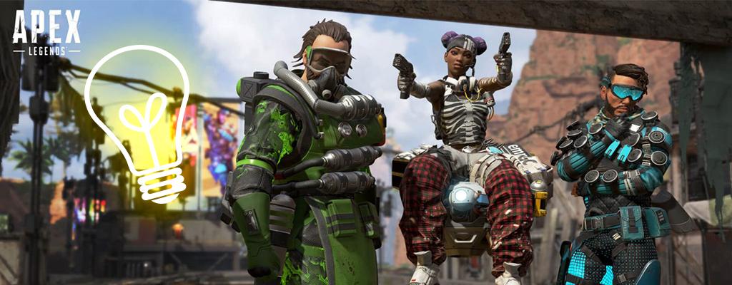 Apex Legends: Leak zeigt neue Helden mit Fallen und Stimpacks