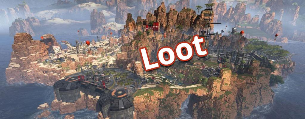 Apex Legends: Seht hier die besten Landeplätze für viel Loot
