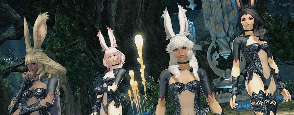 Final Fantasy XIV: Erstellt im Shadowbringers-Benchmark die Völker Viera und Hrothgar