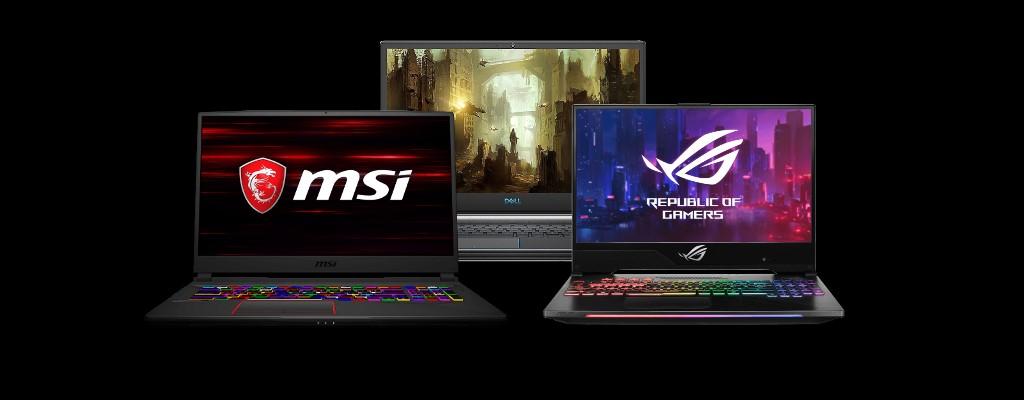 Gaming-Laptops im Juni: Hier gibt's das Meiste fürs Geld
