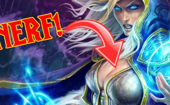 Hearthstone Jaina Nerf chest title