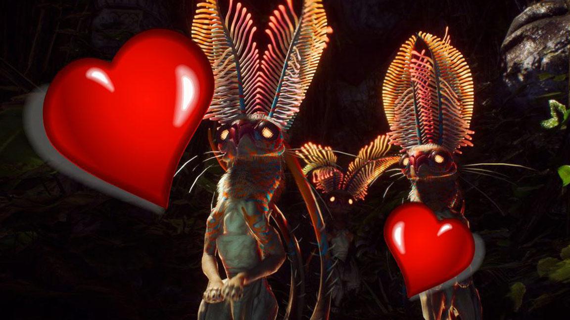 Klauninchen-Liebe