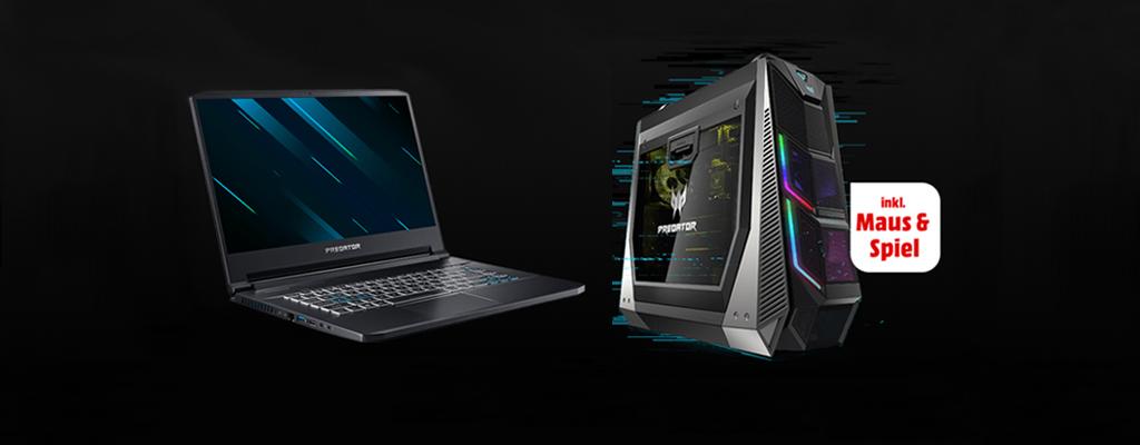 Acer Predator Triton 500 – Gaming-Ultrabook mit RTX und gratis Maus