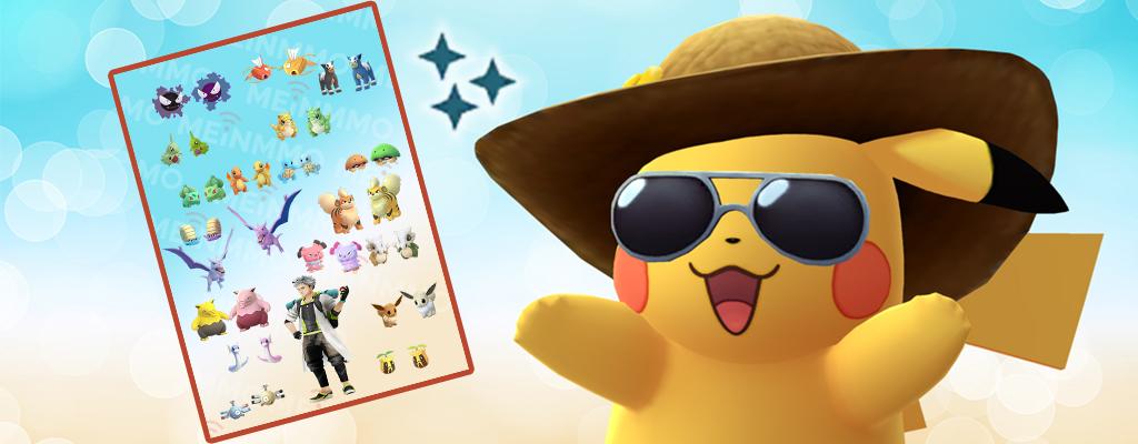 Pokémon GO: Diese Shinys gibt's aus den Feldforschungen im März 2019