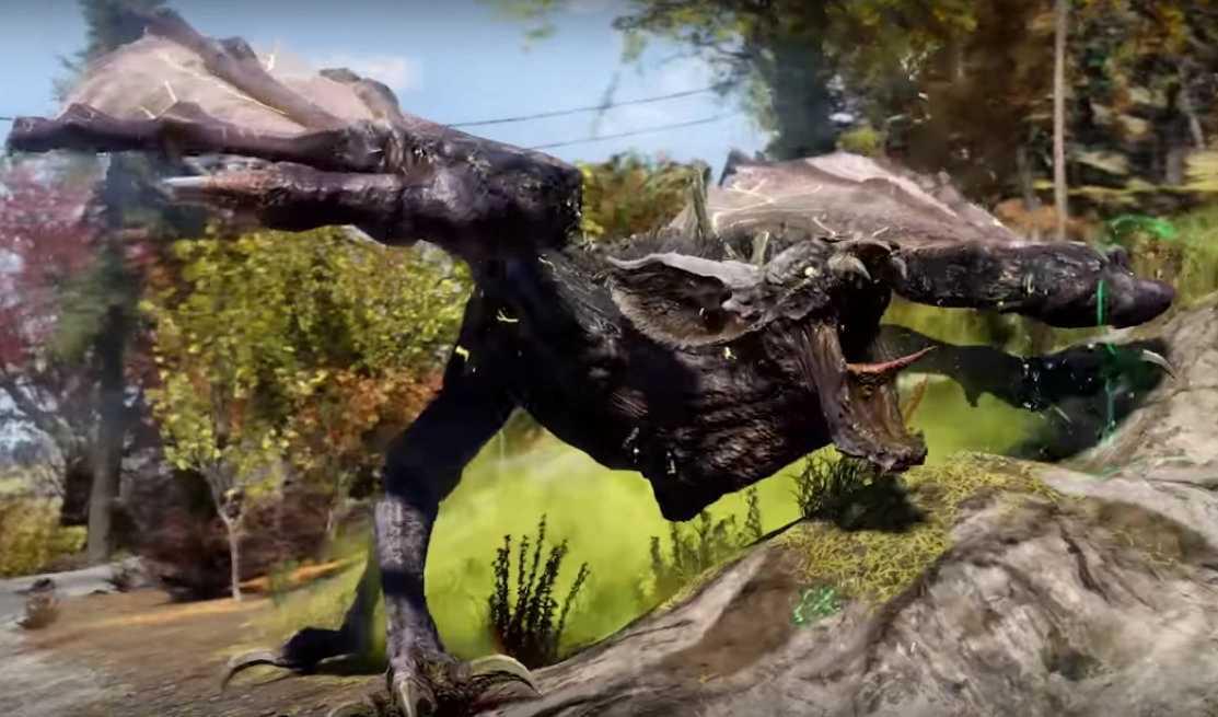 Fallout 76 Brandbestie Scorchbeast