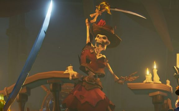 Sea of Thieves Skelette