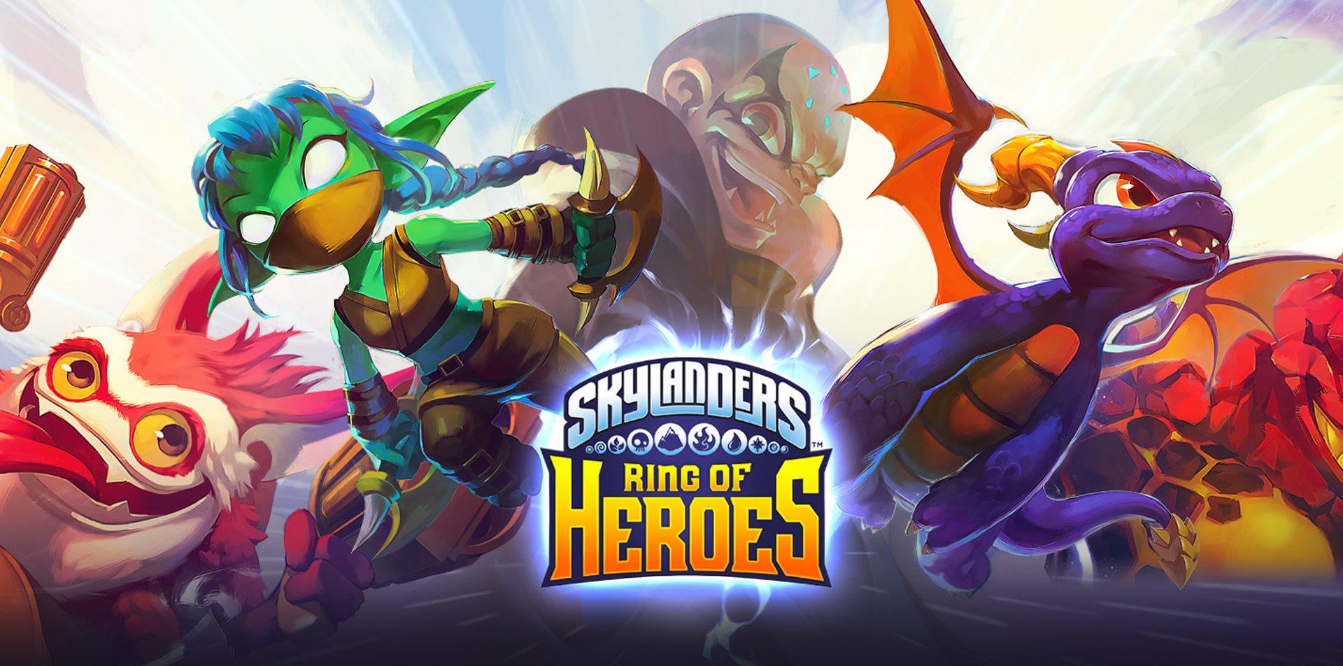 Seht unseren Live-Stream zum Launch von Skylanders: Ring of Heroes