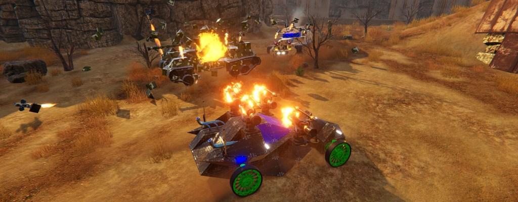 Mad Max lässt grüßen: Fahrzeug-MMO SteamCraft in Open Beta gestartet