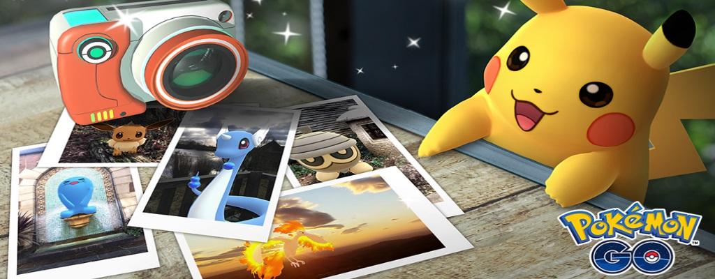 In Pokémon GO könnt ihr bald spezielle Fotos von Pokémon schießen