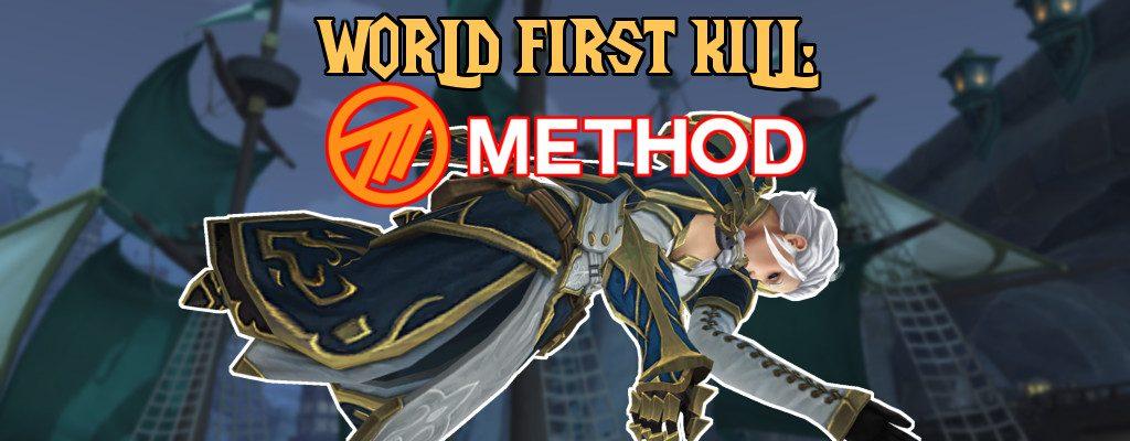 WoW Jaina Method World First title
