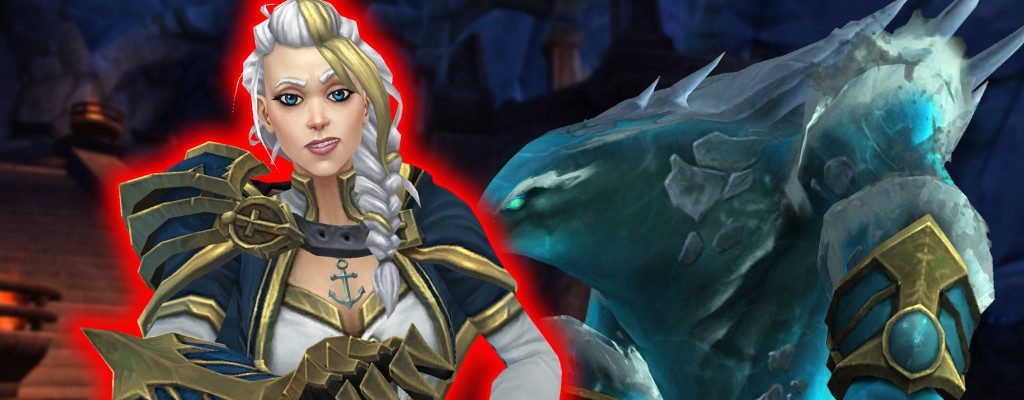 WoW Jaina red glow title water elemental