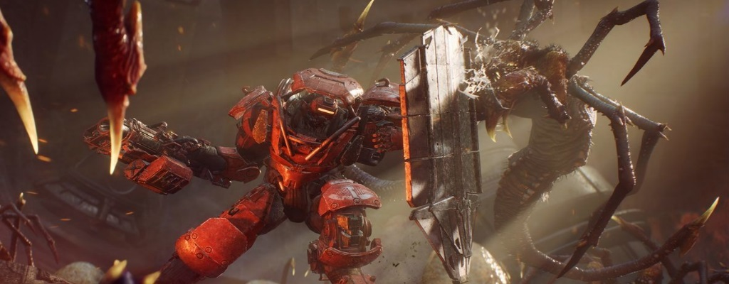 Ein Bug in Anthem gibt dem massigen Colossus die Skills des flinken Interceptor