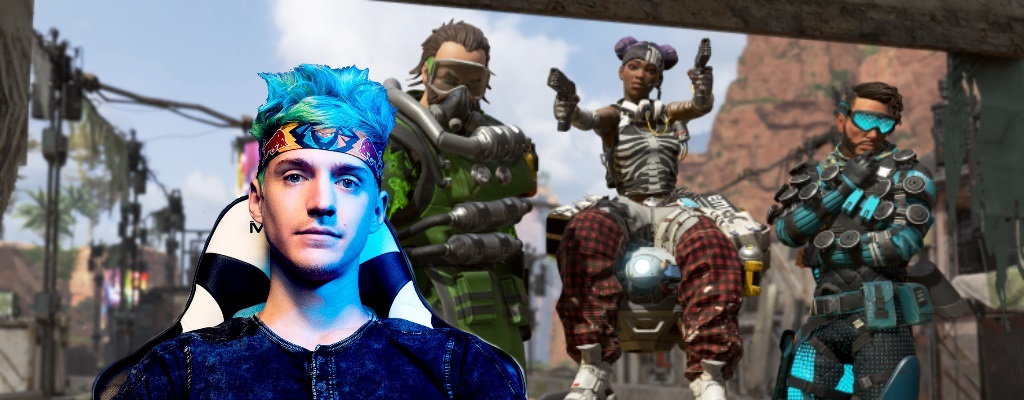 EA zahlte Ninja angeblich 1 Million $, um Apex Legends zu streamen