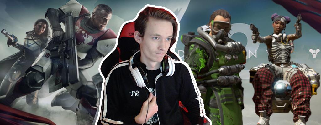 Vom Hüter zur Legende: Destiny-2-Größe wird Profi bei Apex Legends