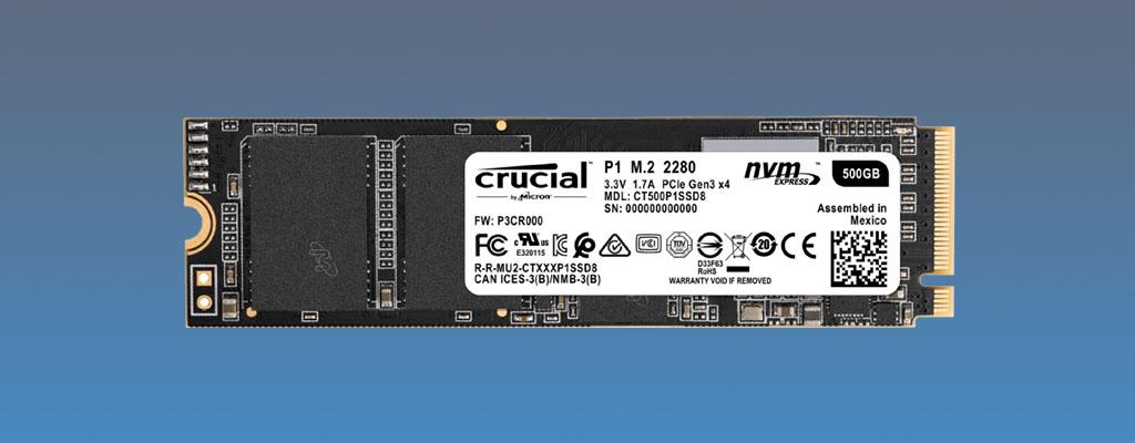 Saturn Speichernacht: 500 GB M.2 SSD von Crucial zum Bestpreis