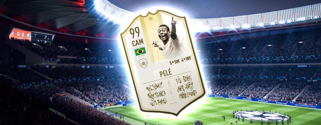 Neue Prime-Icon-Moments in FIFA 19: Pelé ist jetzt super stark
