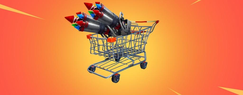 Fortnite: Spieler bauen mit den Flaschenraketen irre Kampffahrzeuge