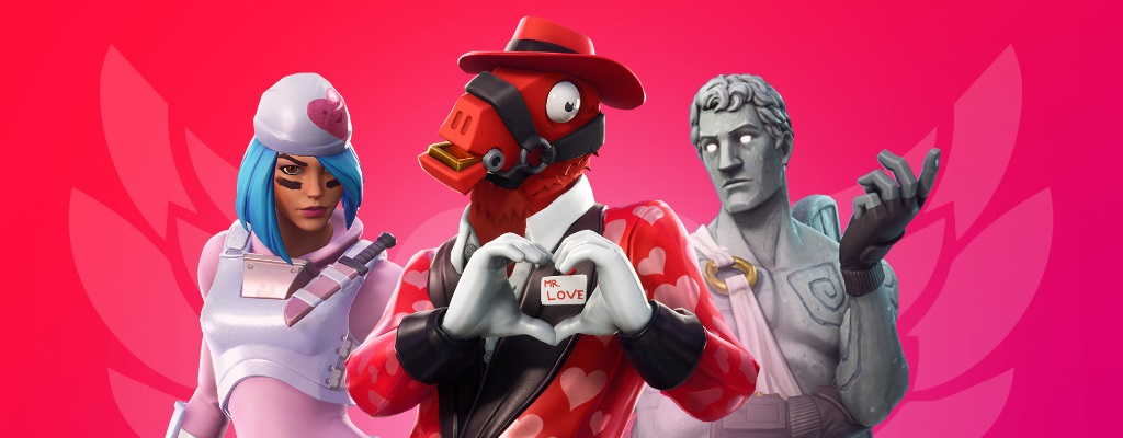 Fortnite down: Server offline zur Wartung – Update 7.4 bringt Valentins-Event
