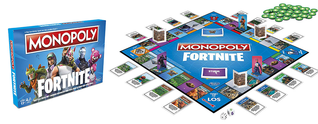 Amazon Angebot: Fortnite macht Monopoly zum Battle Royale