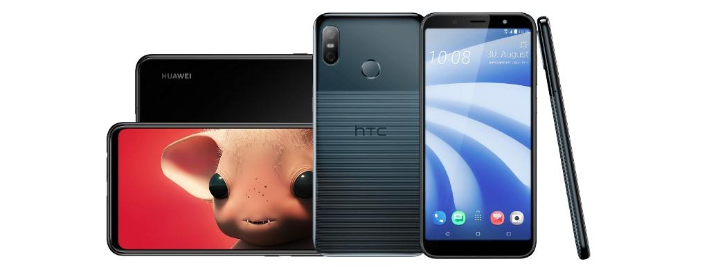 Smartphone-Angebote: Huawei P Smart+ und HTC U12 Life stark reduziert