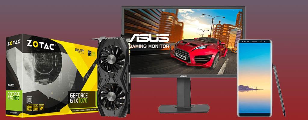 MediaMarkt Angebote mit ASUS, GeForce und Samsung