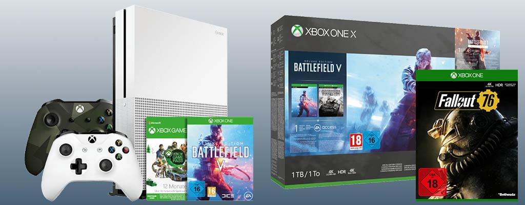 Fallout 76 geschenkt zu jeder Xbox One oder Xbox Wireless-Controller