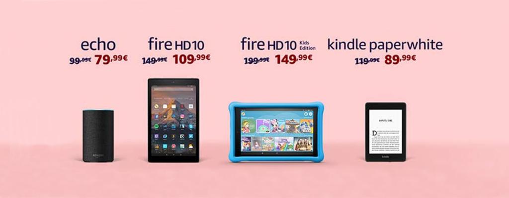 Amazon Valentinstag: die besten Angebote zu Echo, Kindle und Fire HD