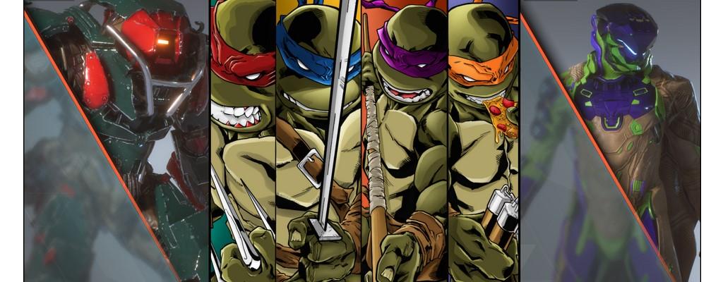 Wenn die Ninja Turtles in Anthem wären, sähe das ziemlich cool aus