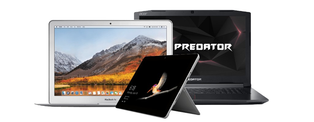 Otto mit Bestpreisen: Nur heute 10% auf MacBooks, Surface & Co. sparen