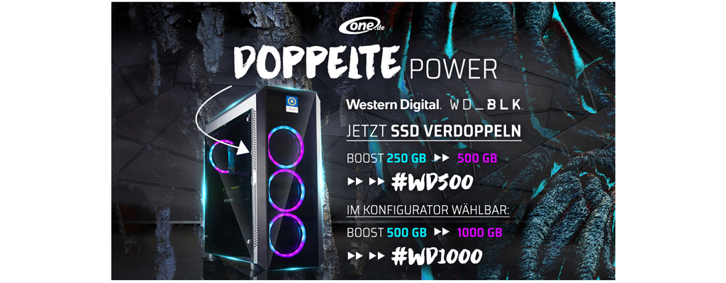 PC mit RTX 2070 und i7 9700k im Angebot –  Nur heute Speicher geschenkt bei der GameStar Championship Edition