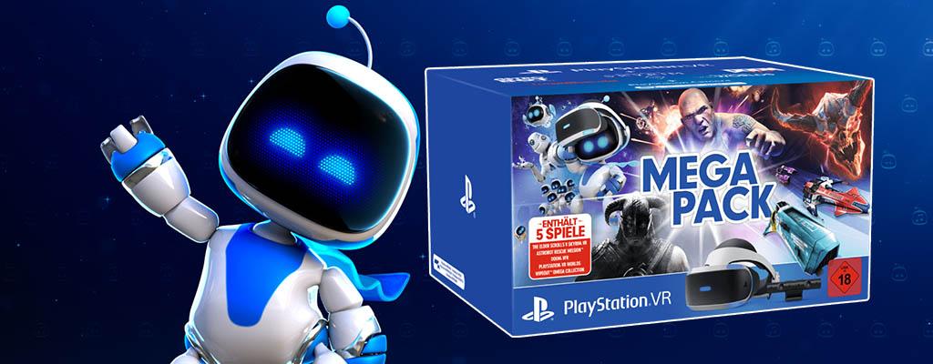 PlayStation VR Megapack mit Astro Bot und Skyrim zum Bestpreis