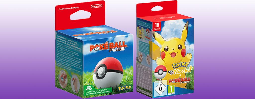 Pokéball Plus und Pokémon Let's Go zum Bestpreis bei Saturn