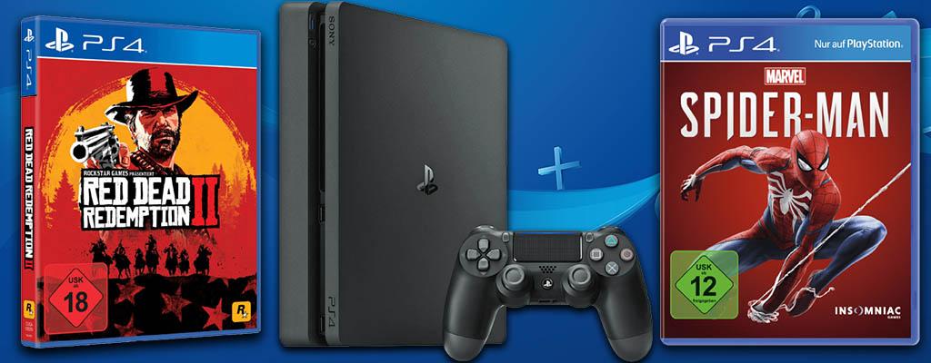 MediaMarkt Prospekt: PS4 Bundle mit Red Dead Redemption 2
