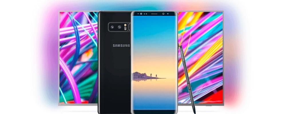 Saturn-Angebote: Galaxy Note 8 & UHD-TV mit Ambilight stark vergünstigt