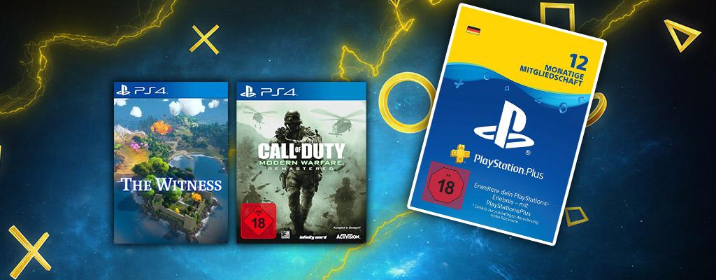 Nur noch für kurze Zeit: 12 Monate PlayStation Plus im Angebot
