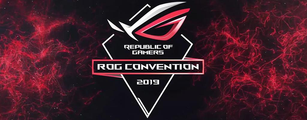 Seht jetzt unser Programm zur ROG Convention 2019 im Livestream