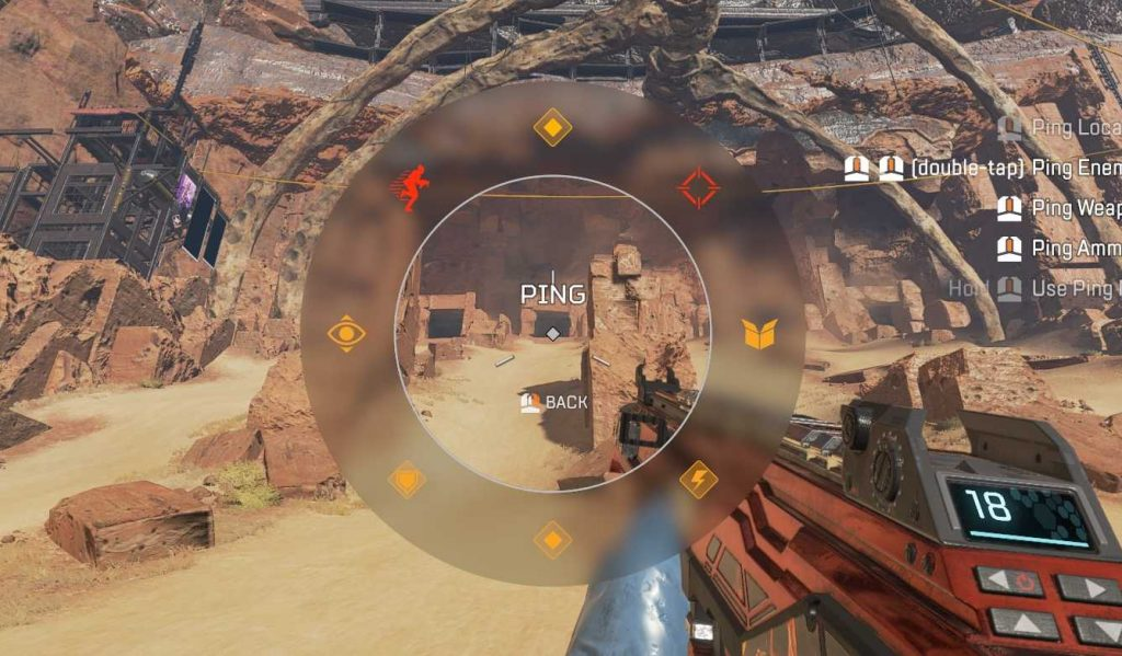 Apex Legends Ping Wheel