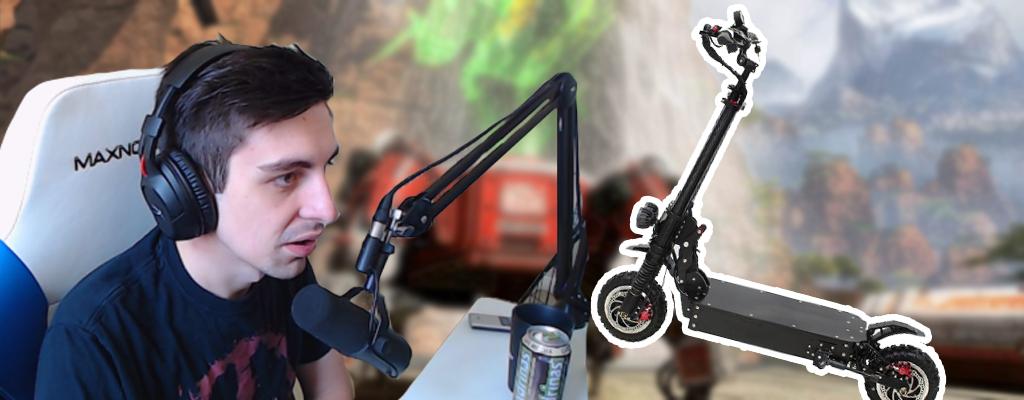 "Apex Legends Star Shroud fällt nach Verkehrsunfall aus: ""Ziel-Arm ist gesund!"""