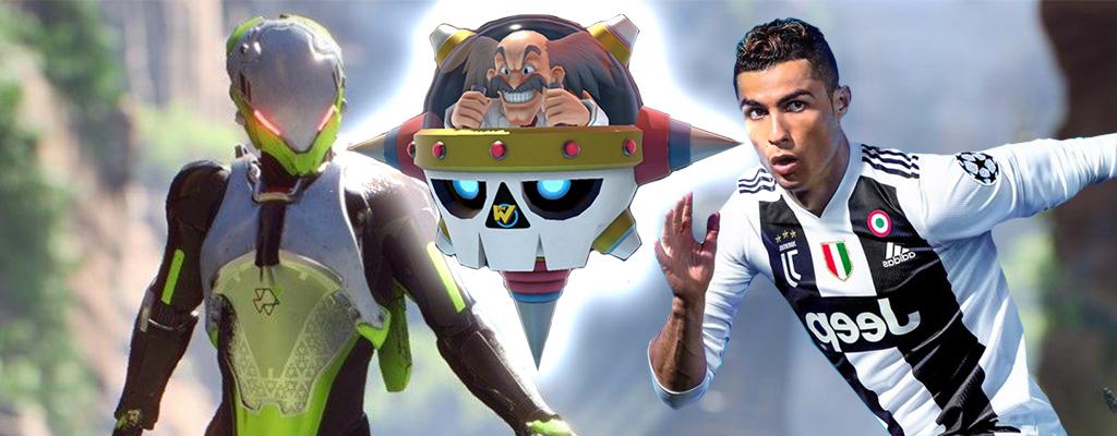 Die 5 aktuell erfolgreichsten Spiele der Welt für PS4, Switch und Xbox One im Februar