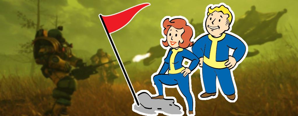 Spieler sind gerade einem geheimen Ende in Fallout 76 auf der Spur