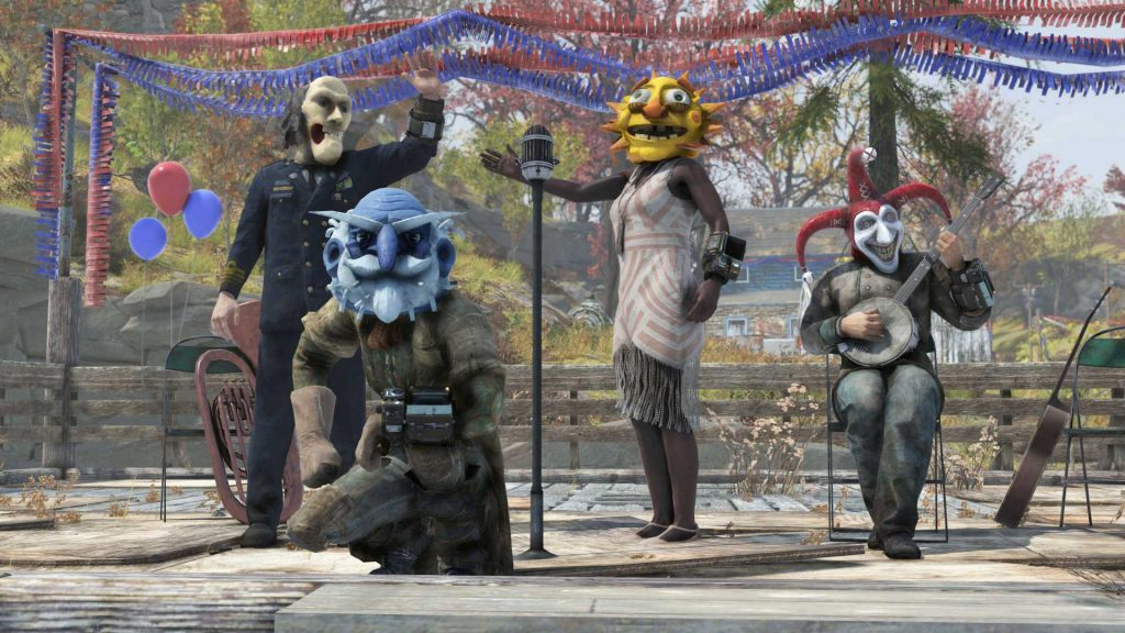 Fallout 76 Wild Appalachia Fasnachts-Event Masken