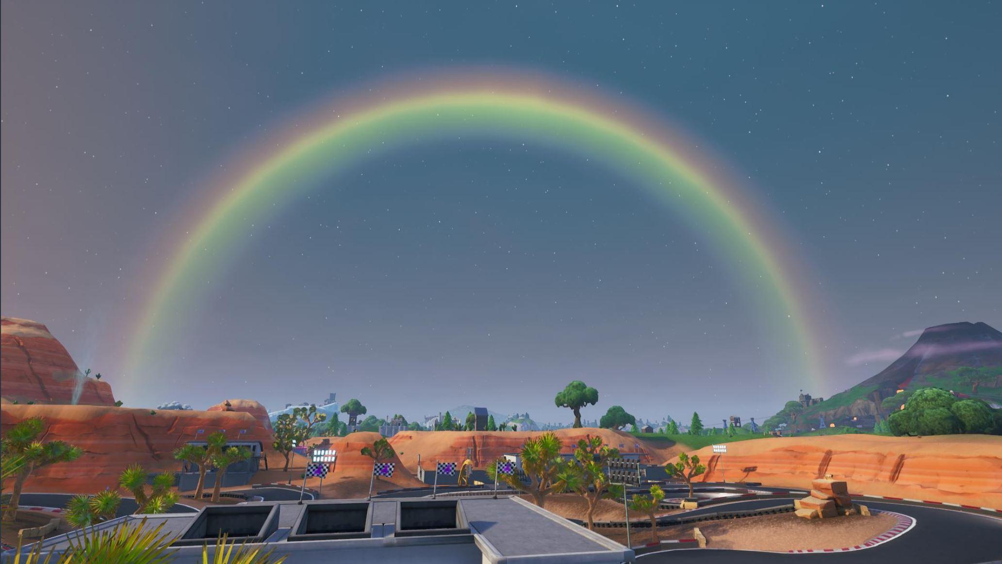 Fortnite feiert heute Event mit neuem Modus Grünphase und Regenbogen