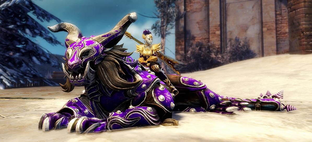 Guild Wars 2: So bekommt ihr das neue Reittier Kriegsklaue